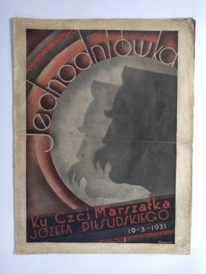 Jednodniówka ku czci Józefa Piłsudskiego, 1931 r.