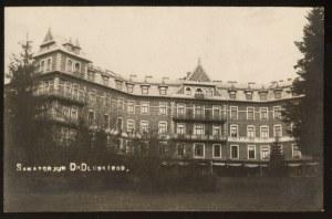 Zakopane. Sanatorium dr Dłuskiego.