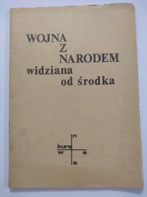 Kukliński, Wojna z narodem widziana od środka, 1987 r.
