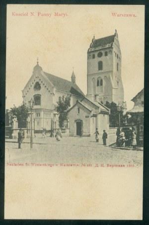 Warszawa, Kościół N. Panny Maryi