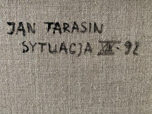 Jan Tarasin ( 1926 - 2009 ), Sytuacja XIX 1992