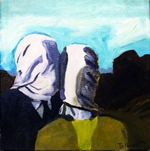 The Krasnals, Kochankowie, portret Christo Jean-Cloude, Hołd dla Renee Magritte'a, Piękno Zakryte z cyklu Piękno w sztuce