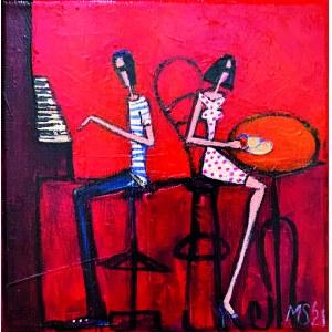 Małgorzata Stępniak ( 1973 ), Piano bar 2021