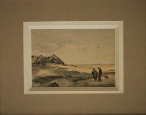 Albert Gonges,Spacerkiem nad morzem