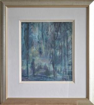 Emil Ukleja(1902-1975),W parku