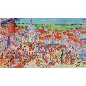 Edward Dwurnik, Rynek Nowego Miasta w Warszawie