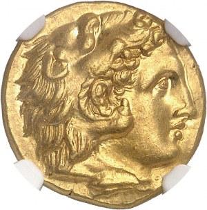 Calabre, Tarente. Statère d'Or ND (280-272 av. J.-C.), Tarente.