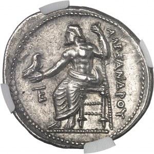 Macédoine (royaume de), Alexandre III le Grand (336-323 av. J.-C.). Tétradrachme ND (336-323 av. J.-C.), Amphipolis.
