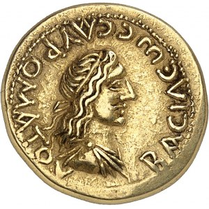 Bosphore (royaume du), Sauromatès Ier (93-123). Statère avec l'Empereur Trajan HY (408 = 111-112), Panticapée.