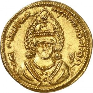 Empire sassanide, Khosro II (591-628). Dinar Or An 21 (610).