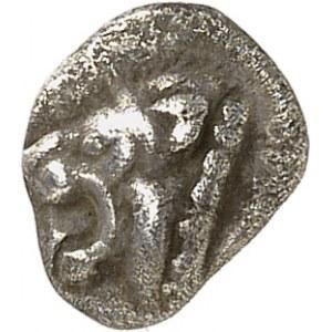 Massilia - Marseille. Hémiobole à la gueule de lion à gauche ND (c.490-470 av. J.-C.), Marseille.