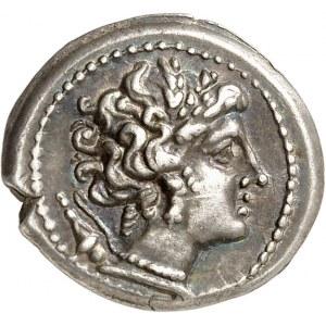 Massilia - Marseille. Drachme au différent A ND (c.200-150 av. J.-C.), Marseille.