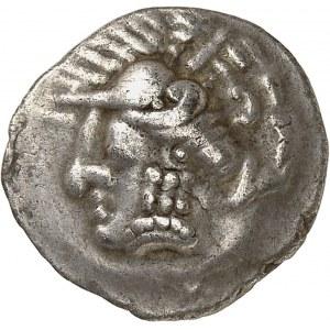 Sud-Ouest de la Gaule. Drachme imitation de Rhodé ND (240-220 av. J.-C.).