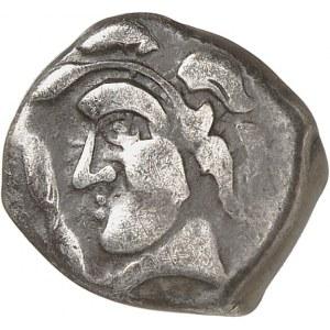 Sud-Ouest (Narbonne-Toulouse). Drachme à la croix ND (IIe-Ier s. av. J.-C.).