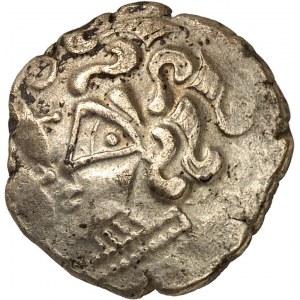 Osismes (fin du IIe s. - Ière moitié du Ier s. av. J.-C.). Statère d'or à la fleur c.120-50 av. J.-C.