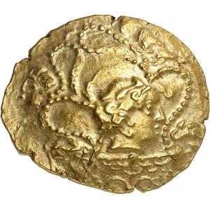 Vénètes (IIe - Ier siècle av. J.-C.). Statère à la petite tête nue ND (IIe s. av. J.-C.).