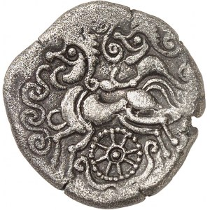 Vénètes (IIe - Ier siècle av. J.-C.). Statère, classe V à la roue c.80-50 av. J.-C.