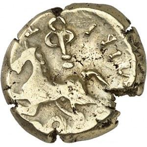 Arvernes (Ier siècle av J-C). Statère à la légende [ATAVI] VIIBI ND (60-40 av. J.-C.).