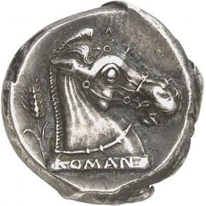 République romaine, Anonymes. Didrachme ND (280-276 av. J.-C.), Métaponte ?