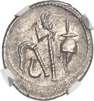Jules César (60-44 av. J.-C.). Denier ND (c.49 av. J.-C.), Gaule ou Italie.