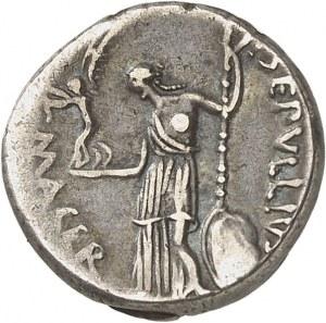 Jules César (60-44 av. J.-C.). Denier ND (février-mars 44 av. J.-C.), Rome.