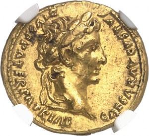 Auguste (27 av. J.-C. - 14 ap. J.-C.). Aureus 13-14, Lyon.