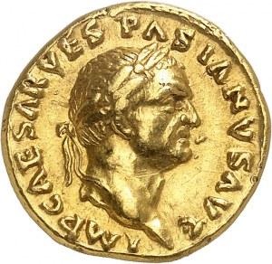 Vespasien (69-79). Aureus 69-71, Rome.