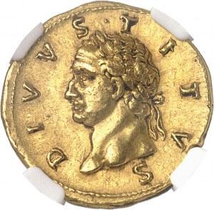 Trajan (98-117). Aureus 112-113, Rome.