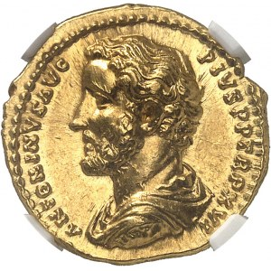 Antonin le Pieux (138-161). Aureus 152-153, Rome.
