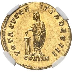 Antonin le Pieux (138-161). Aureus 158-159, Rome.