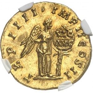 Lucius Verus (161-169). Aureus 163-164, Rome.