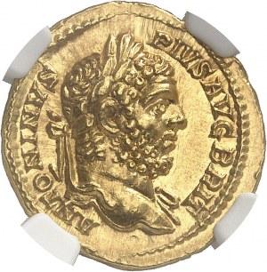 Caracalla (198-217). Aureus 210-213, Rome.