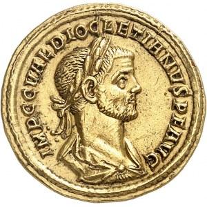 Dioclétien (284-305). Aureus 284-286, Cyzique.