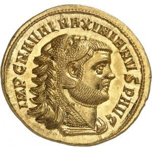 Maximien Hercule (286-305). Médaillon de 2 1/2 aurei ND (294-305), Rome.