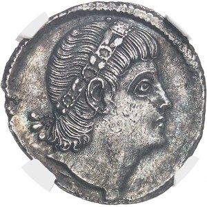 Constantin II (337-350). Silique ND (337-340), Constantinople.