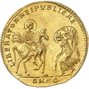 Magnence (350-353). Médaillon de 3 solidi, commémorant la libération d'Aquilée ND (c.351), Aquilée.