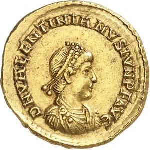 Valentinien II (375-392). Solidus 378-383, Aquilée.