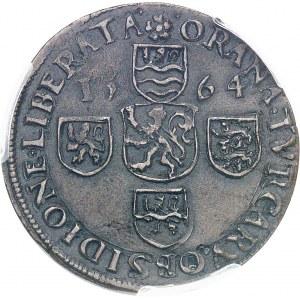 Philippe II d'Espagne (1556-1598). Jeton pour la levée du siège d'Oran 1564, Dordrecht.