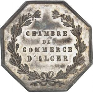 Second Empire / Napoléon III (1852-1870). Jeton de la Chambre de Commerce d'Alger par Brasseux ND (1845-1860), Paris.