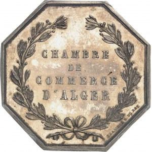 Second Empire / Napoléon III (1852-1870). Jeton de la Chambre de Commerce d'Alger par Brasseux ND (après 1880), Paris.