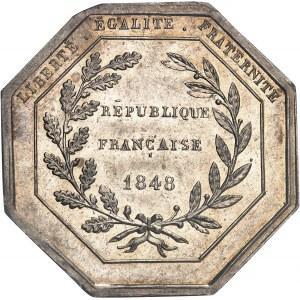 IIe République (1848-1852). Jeton pour la Société agricole de l'Algérie 1848, Paris.