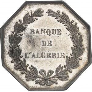 Second Empire / Napoléon III (1852-1870). Jeton de la Banque de l'Algérie ND (1845-1860), Paris.