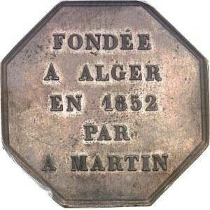 Second Empire / Napoléon III (1852-1870). Jeton pour L'Afrique française, compagnie d'assurances maritimes 1852, Paris.