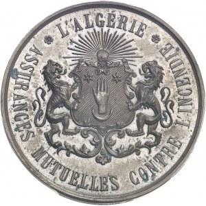 Second Empire / Napoléon III (1852-1870). Jeton pour les Assurances mutuelles contre l'incendie ND (1845-1860), Paris (Stern).