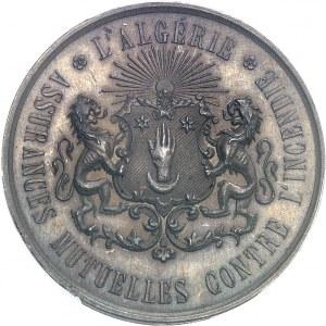 Second Empire / Napoléon III (1852-1870). Jeton pour les Assurances mutuelles contre l'incendie ND (1860-1879), Paris (Stern).