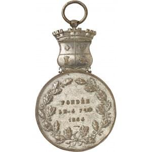 Second Empire / Napoléon III (1852-1870). Décoration, Société de secours mutuels de Sétif 1864, Paris.