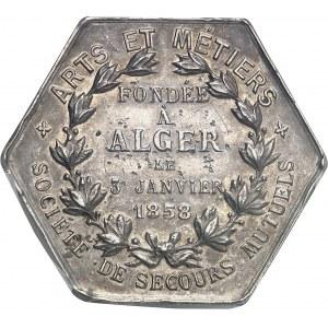 IIIe République (1870-1940). Jeton de l'Assemblée générale de Arts et Métiers, société de secours mutuels 1858-1894, Paris.