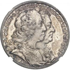 Bavière, Charles-Albert (1726-1745). Thaler du vicariat 1740, Munich.