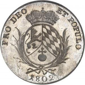 Bavière, Maximilien I (IV) Joseph (1799-1806-1825). Thaler 1802, Munich.