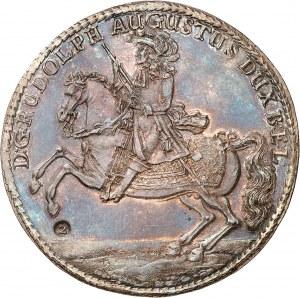 Brunswick-Wolfenbüttel, Rodolphe-Auguste (1666-1704). Double thaler (löser de 2 thalers) 1679, Zellerfeld.